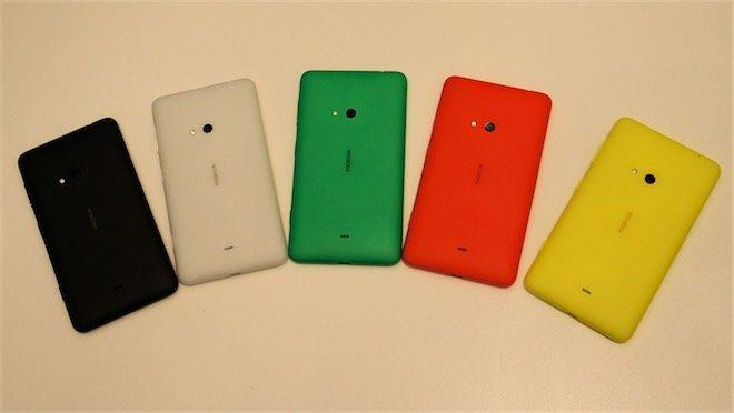 Nokia Lumia 625 Cyan güncellemesi Tayland'da başladı