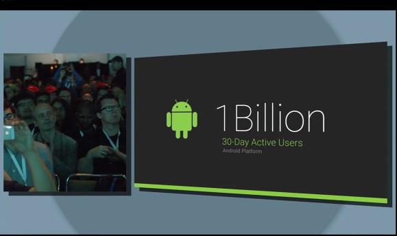 Android 1 Milyar Aktif Kullanıcı Sayısına Sahip