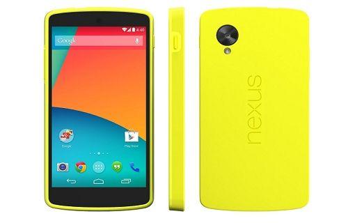 Nexus 5 Sararıyor