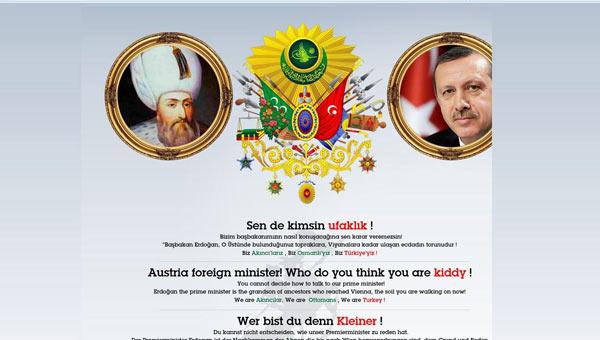 Erdoğan'ı Uyaran Avusturyalı Bakana Hacker Darbesi