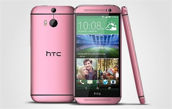 HTC One M8 için yeni renk seçenekleri geliyor