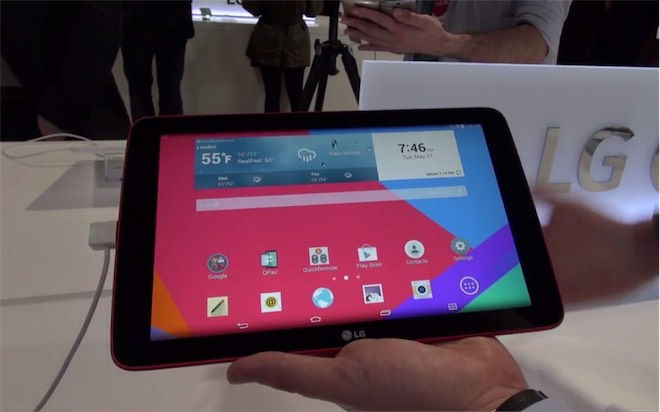 LG G Pad 10.1satışa sunuldu