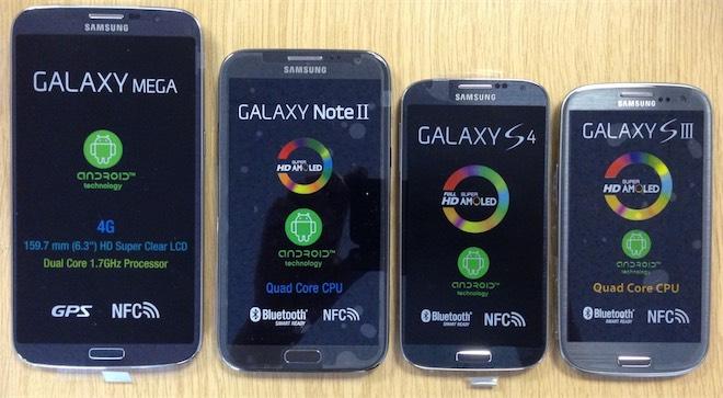 Bu cihaz Samsung Galaxy Mega 2 olabilir