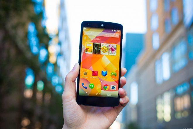 Nexus 5 için yeni güncelleme yayınlandı