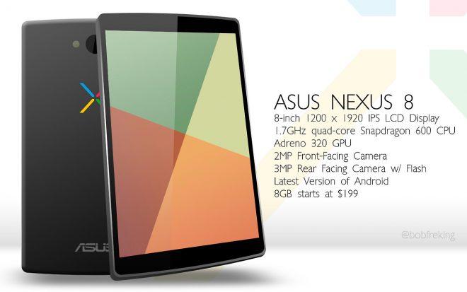 Nexus 8 konsept videosu yayınlandı