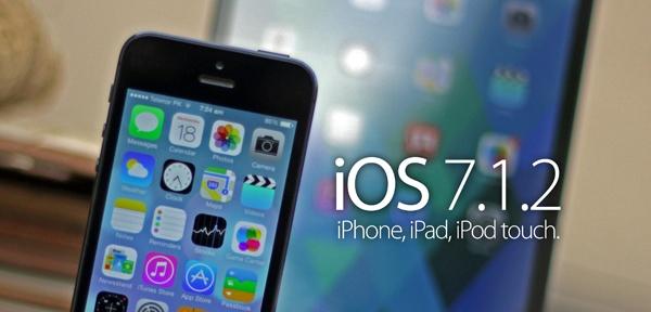 Apple iOS 7.1.2 sorunları ile beraber geldi