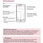 LG G3 S'in kendisinden önce kullanım klavuzu sızdırıldı