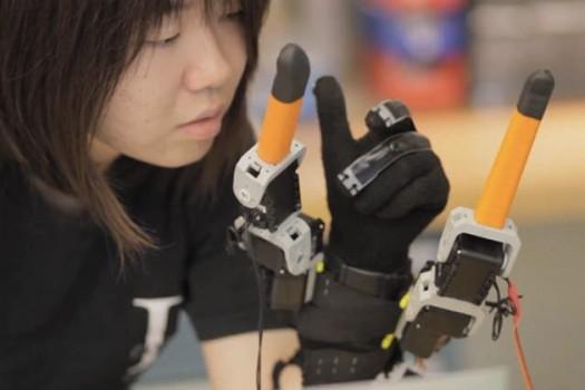 MIT'den Yeni Proje Robot Parmaklar!