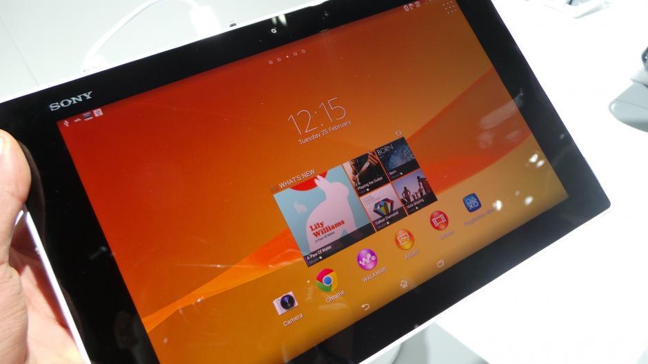Sony Xperia Z2 tablet için güncelleme geliyor