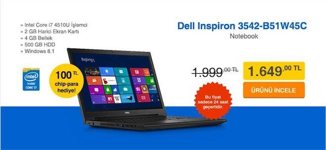 Dell inspiron kliksa