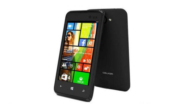"""Dünyanın En Ucuz Windows Phone Telefonu """"Celkon Win 400"""""""