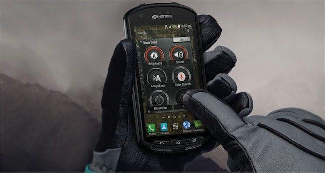 kyocera dayanikli telefon