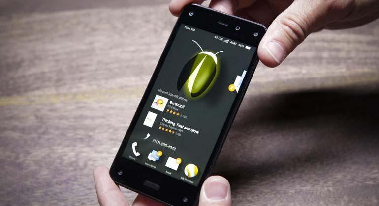 Amazon yeni jenerasyon Fire Phone