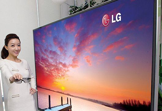 LG'den 55 inç boyutunda 8K çözünürlükte TV!