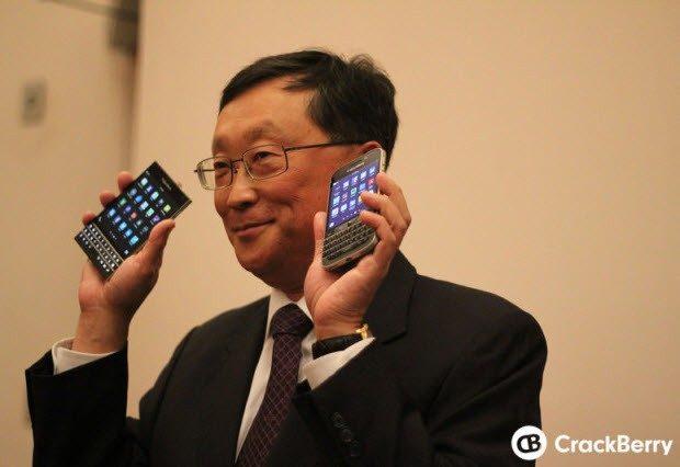 """BlackBerry, """"biz varız"""" diyor!"""