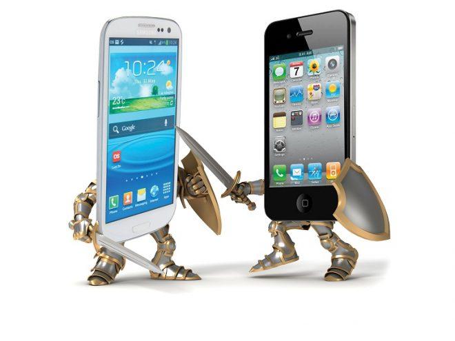 Apple Samsunga Yetişti