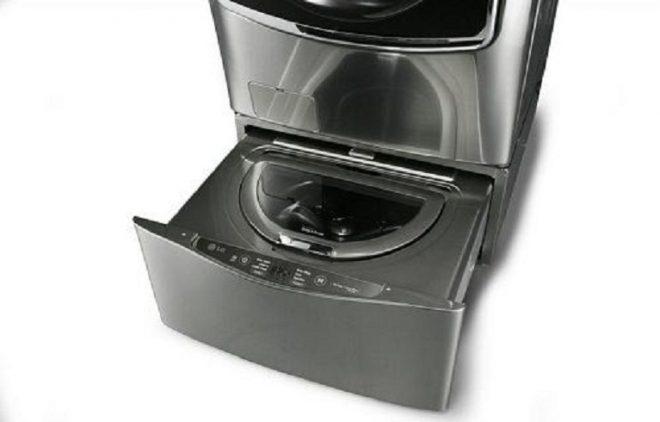 Yeni model çamaşır makinesi.