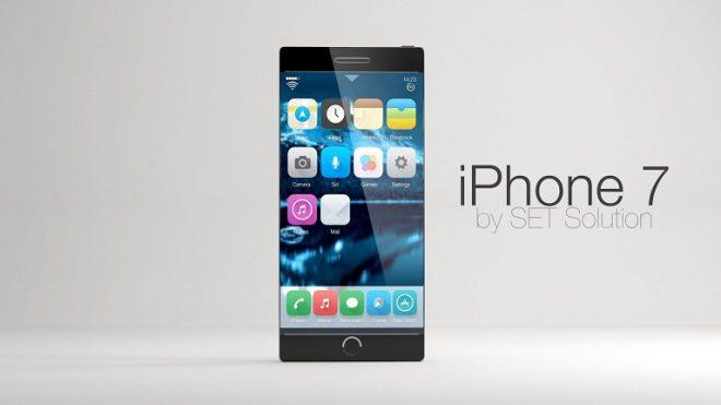 iPhone 7 konsept tasarım