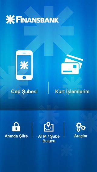 Finansbank Cep iOS 1