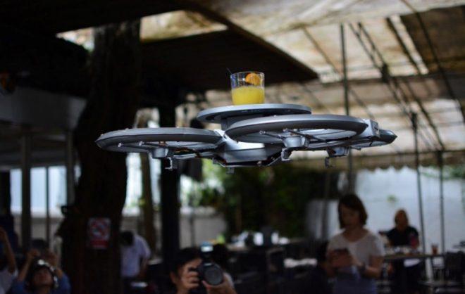 Droneler Servis Elemanı Oldu