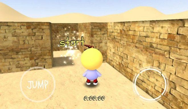 Labirent 3D Android Oyunu