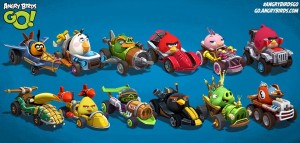 Angry Birds Go! iOS Oyunu