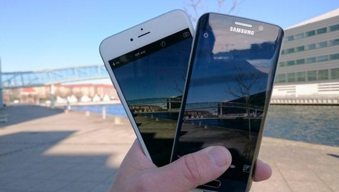 Galaxy S6 Edge vs iPhone S6 Plus