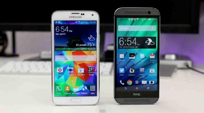 HTC-One-M9-Samsung-Galaxy-S6-a-karsi