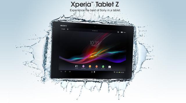 """Dünyanın En İnce Tableti Sony'den """"Xperia Z4 Tablet"""""""