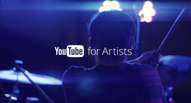 Sanatçılar için YouTube