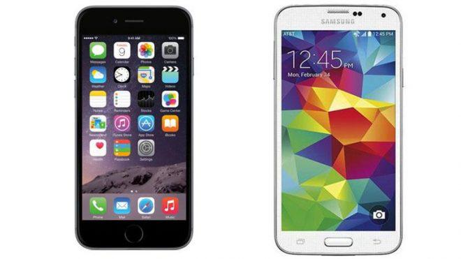 iPhone ve Samsung yarışı