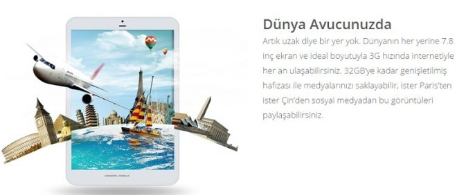 Discovery Tab8 3G