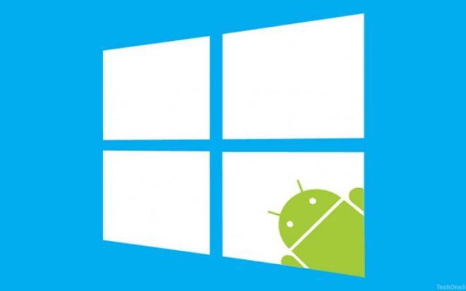 Windows 10'lu Telefonlar Android Çalıştıracak mı?