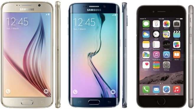 galaxy S6-S6 Edge-iPhone-6