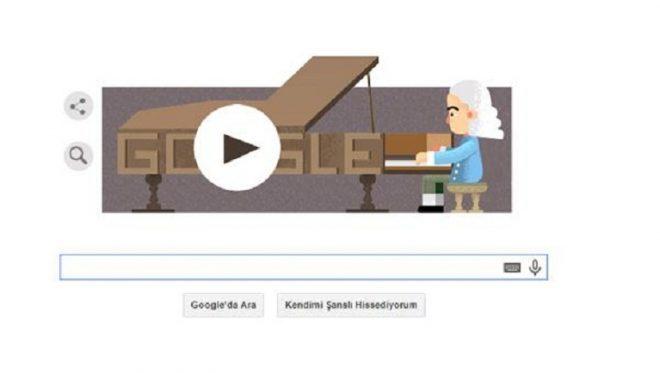 Google, piyano doodle'ı ile ilgi görüyor.