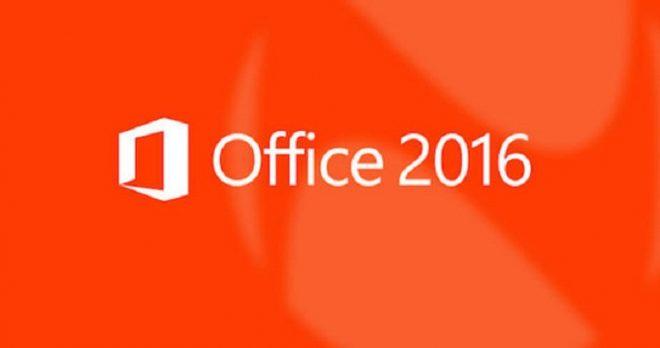 Office 2016 sürümü önizlemesi ile gündeme geliyor.