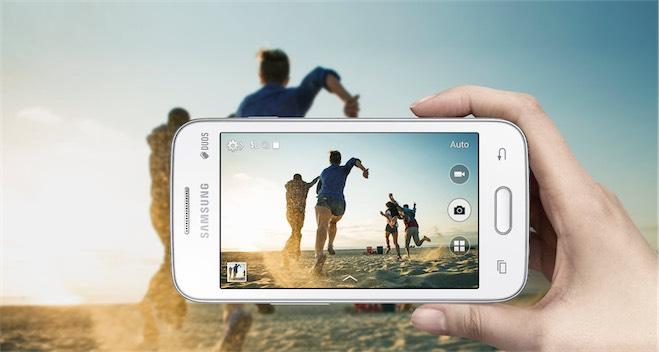 Samsung Galaxy V Plus siyah buyuk-2