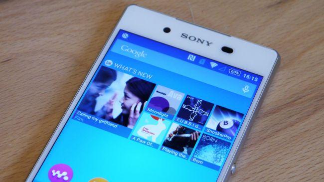 Sony Xperia Z3 Plus ekran