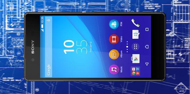 Sony Xperia Z3+ boyut karsilastirma