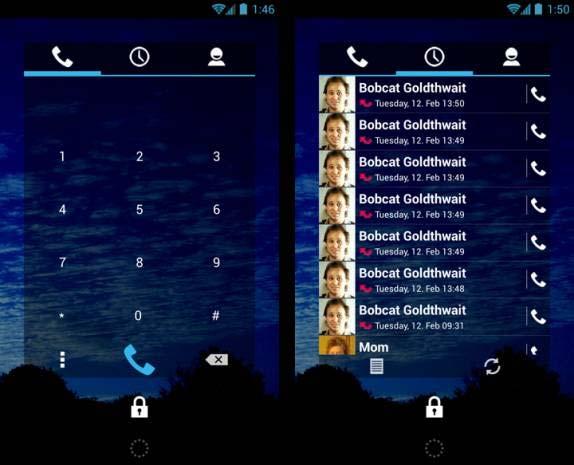 Android kullanan akıllı telefonlar için en iyi 20 Widget