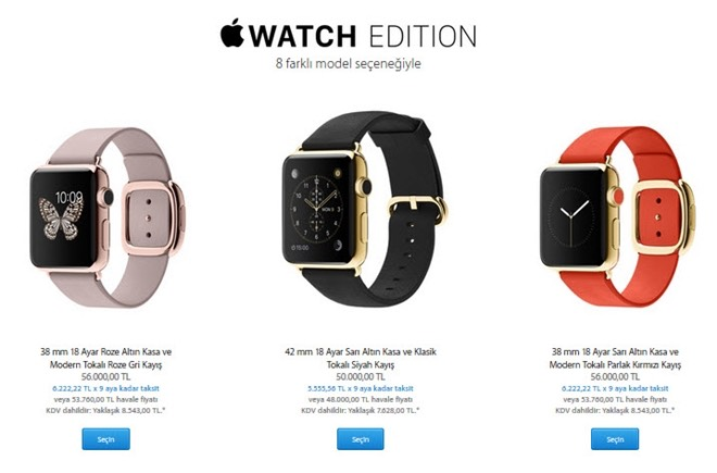 apple watch- edition