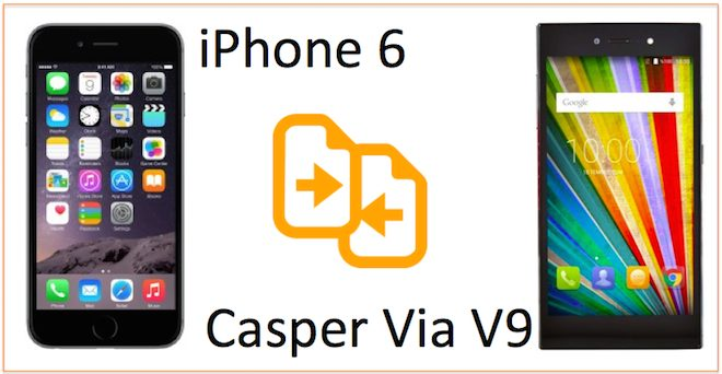 iphone 6 vs Casper via v9 karsilastirma
