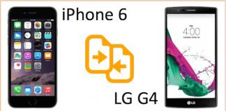 iphone 6 vs LG G4