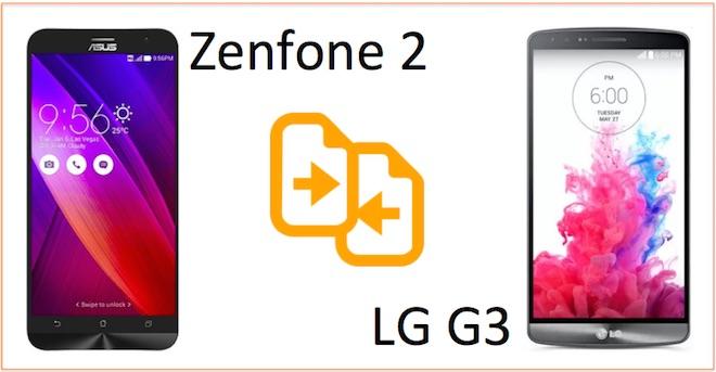 zenfone 2 vs lg g3 kiyaslama