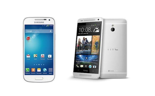One Mini VS Galaxy S4 Mini karşılaştırması