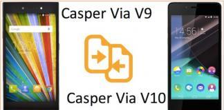 Casper VIA V10 vs V9 karsilastirma