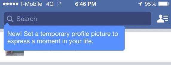 Facebook'ta Zaman Ayarlı Profil Fotoğrafları!