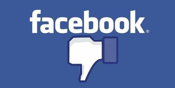 facebook dislike gelmeyebilir