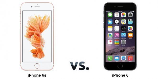 iPhone 6 vs iPhone 6S Karşılaştırması