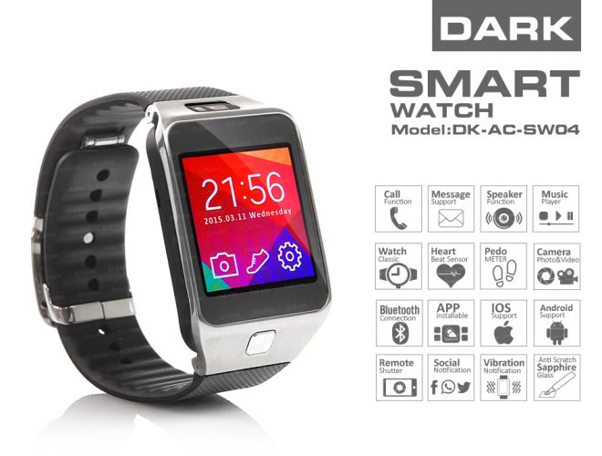 Dark Smart Watch SW04